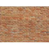 Papermoon Fototapete »Brickwall«, Vlies, in verschiedenen Größen, bunt