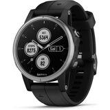 Garmin Smartwatch »fenix 5S Plus«, Silber-Schwarz