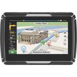 NAVITEL Navigationsgerät »G550 MOTO«, Schwarz