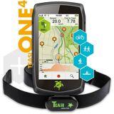 TAHUNA Outdoor-Navigationsgerät »ONE4 HR inklusive Herzfrequenzsensor«, Schwarz