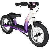 Bikestar Laufrad »Classic, Lila Weiß, 12 Zoll« 12 Zoll, dunkellila-weiß