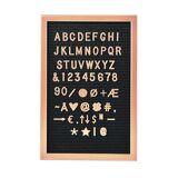 BUTLERS MESSAGE BOARD »Stecktafel 45 x 30 cm«, rosegold