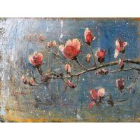 kunstdruck »flint / frühlingsblüten«