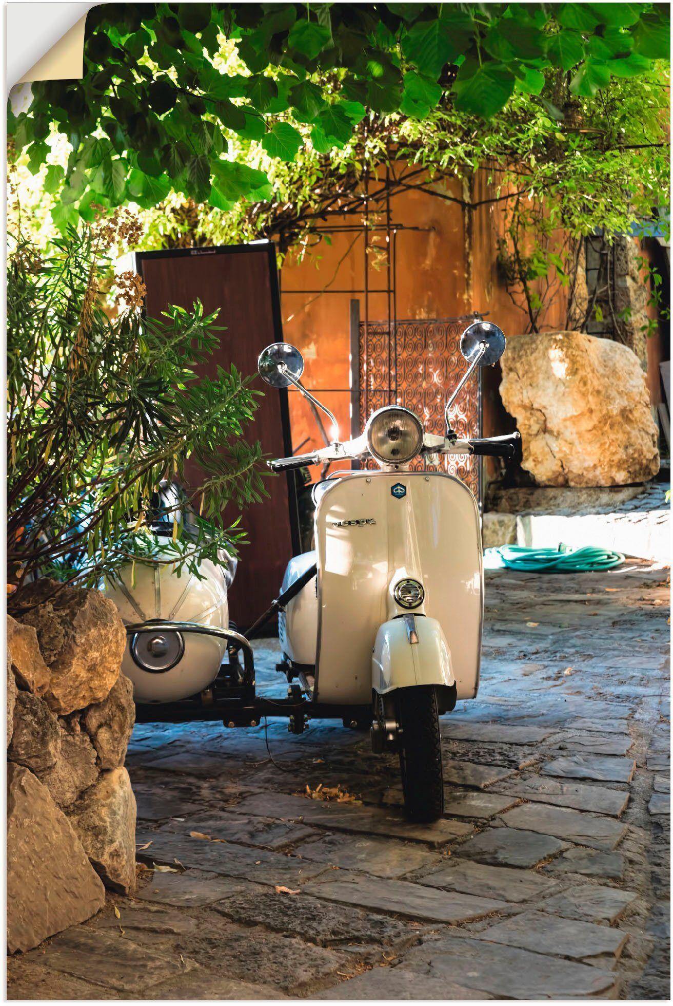 Artland Wandbild »Provence«, Motorräder & Roller (1 Stück)