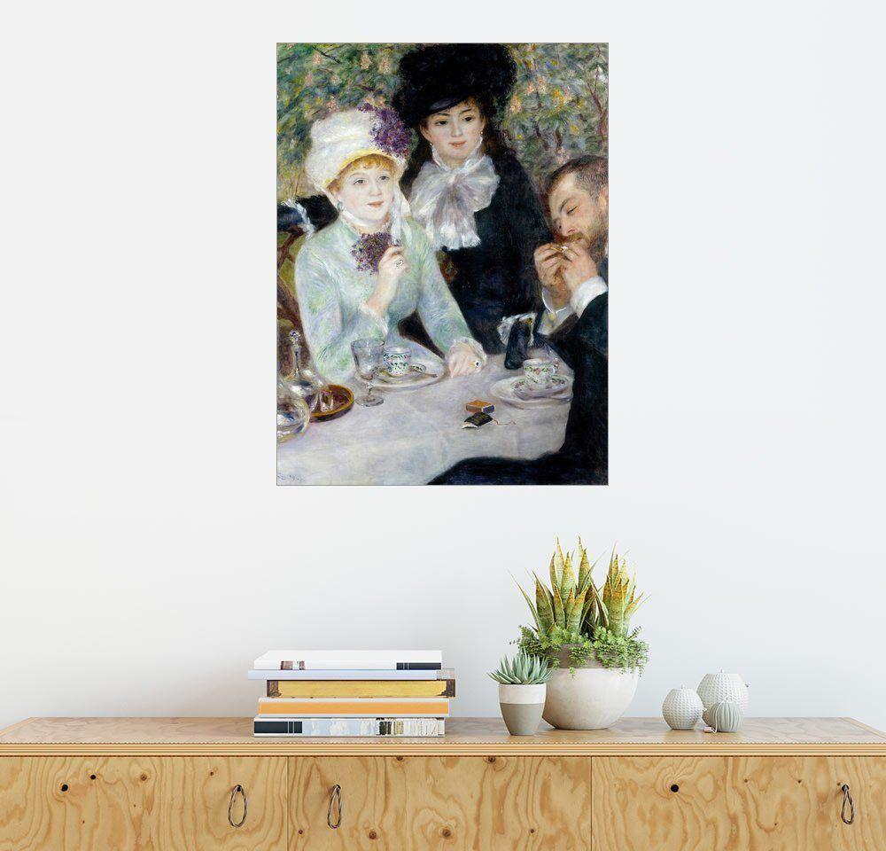 Posterlounge Wandbild - Pierre-Auguste Renoir »Nach dem Essen«, bunt
