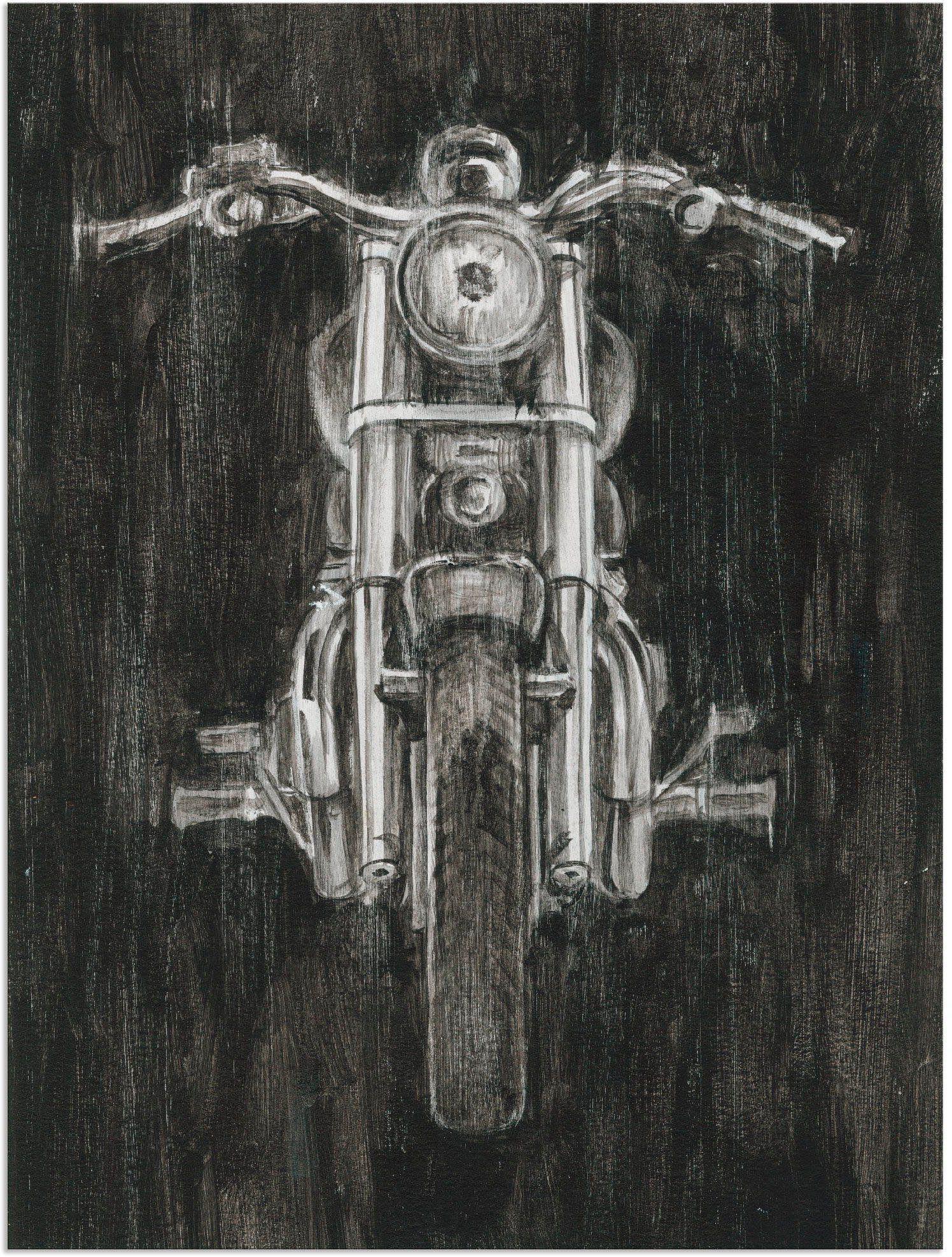 Artland Wandbild »Eisernes Pferd II«, Motorräder & Roller (1 Stück)