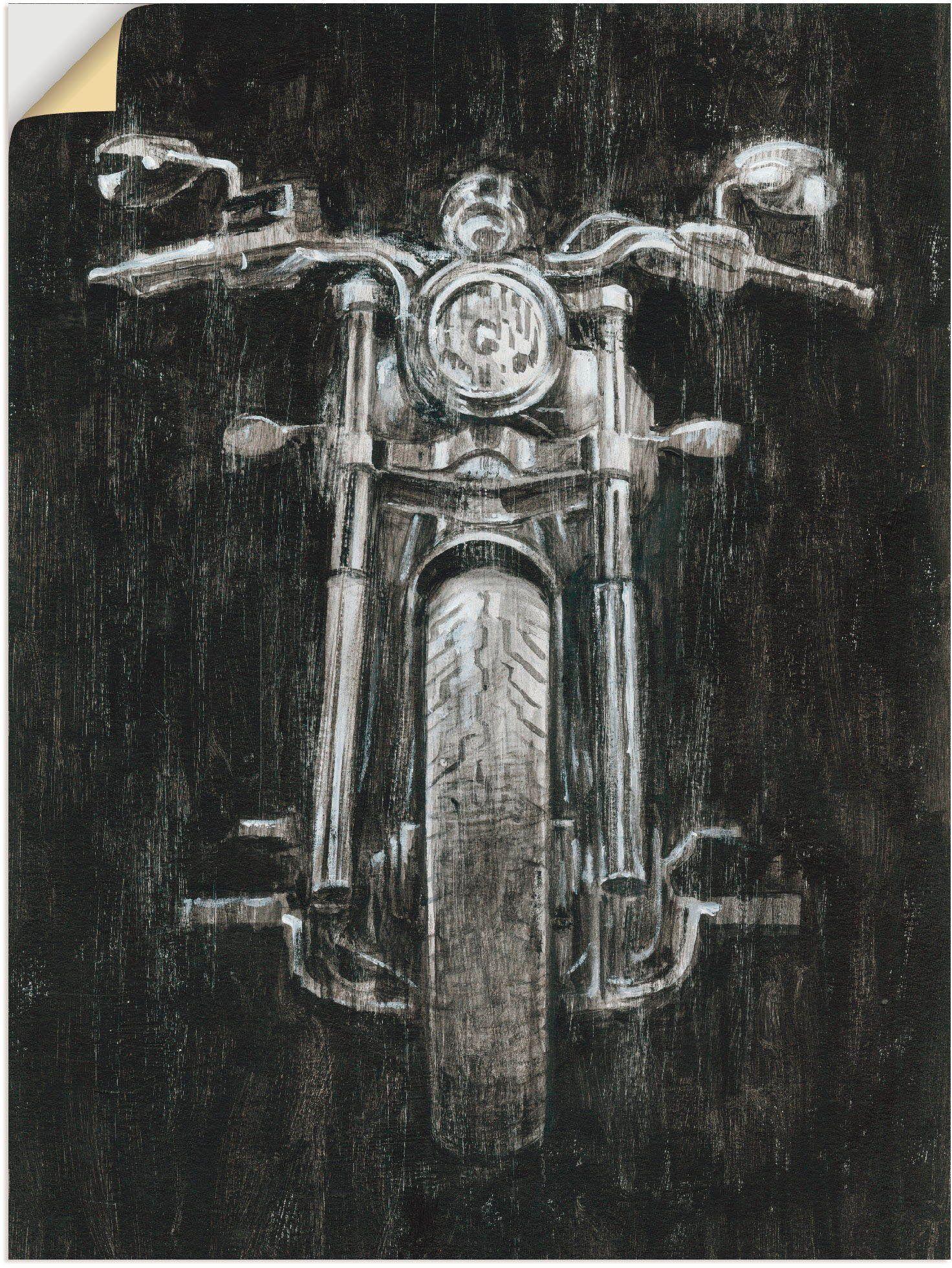 Artland Wandbild »Eisernes Pferd I«, Motorräder & Roller (1 Stück)
