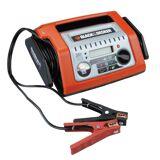Black & Decker Batterieladegerät »Batterieladegerät 20A vollautomat«, orange