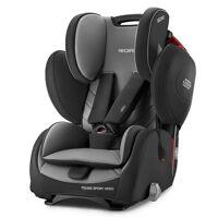 recaro autokindersitz »young sport hero - core - carbon black«, 8 kg, (2-tlg), kinder autositz - ab 9 monate - 12 jahre (75 -150 cm)