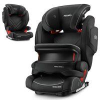 recaro autokindersitz »monza nova is seatfix - core - performance black«, 7.7 kg, (3-tlg), kinder autositz - ab 9 monate - 12 jahre (75 -150 cm)