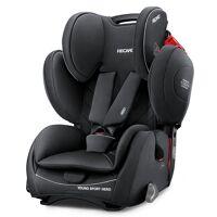 recaro autokindersitz »young sport hero - core - performance black«, 8 kg, (2-tlg), kinder autositz - ab 9 monate - 12 jahre (75 -150 cm)
