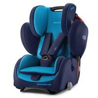 recaro autokindersitz »young sport hero - core - xenon blue«, 8 kg, (2-tlg), kinder autositz - ab 9 monate - 12 jahre (75 -150 cm)