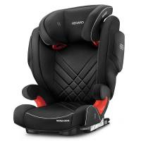 recaro autokindersitz »monza nova 2 seatfix - core - performance black«, 6.8 kg, (2-tlg), kinder autositz - ab 3,5 - 12 jahre (95 -150 cm)