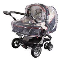 sunnybaby kinderwagen-regenschutzhülle »regenverdeck für zwillingswagen, marine«