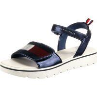 tommy hilfiger sandalen für mädchen, blau