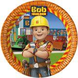 Procos Pappteller Bob the Builder 23 cm, 8 Stück
