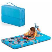 hauck klappmatratze »fun for kids, sleeper playpark, 60x120 cm«, , 6 cm hoch, inklusive transporttasche