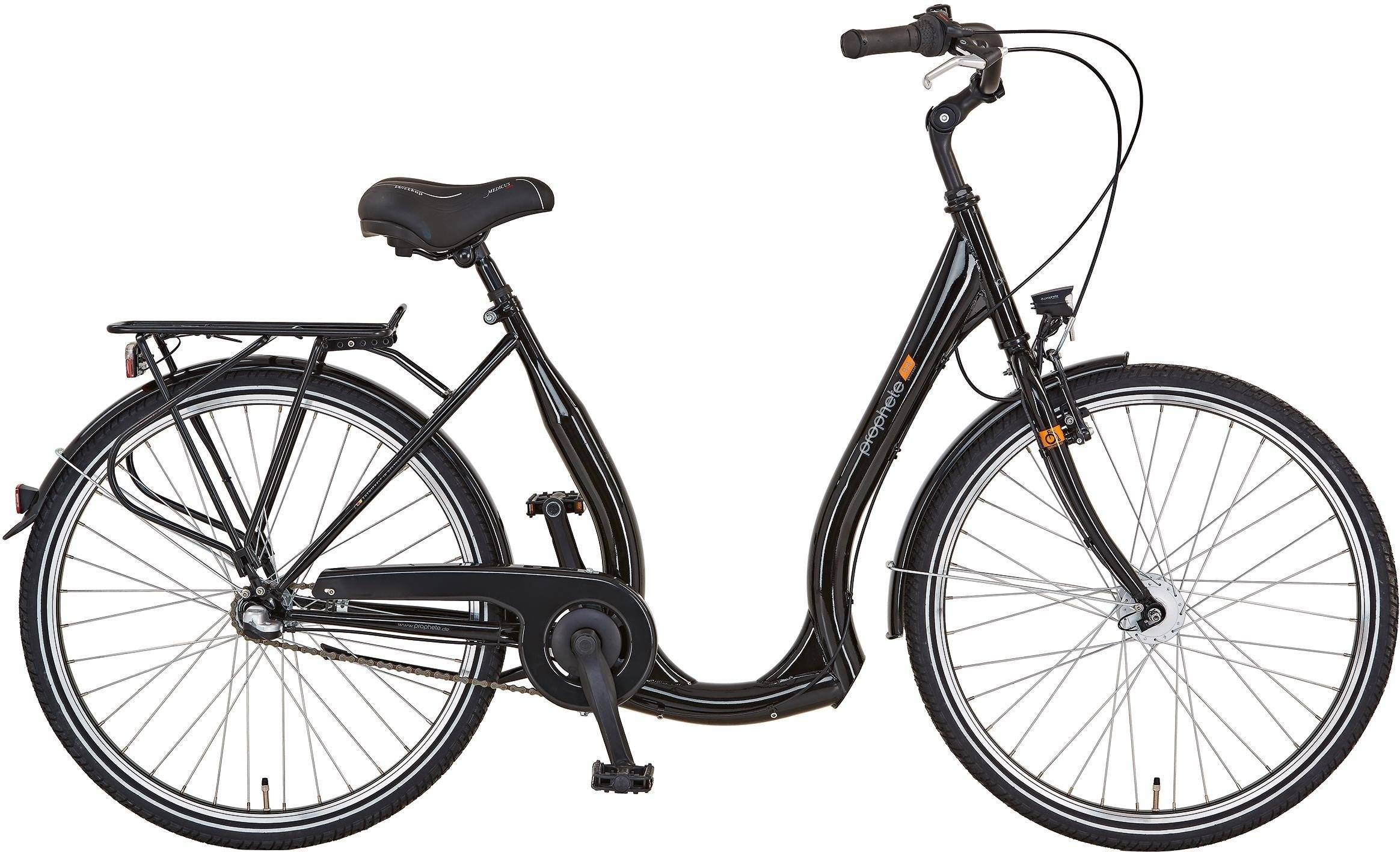 "Prophete Cityrad »GENIESSER 9.4 City Bike 26""«, 3 Gang, Nabenschaltung"
