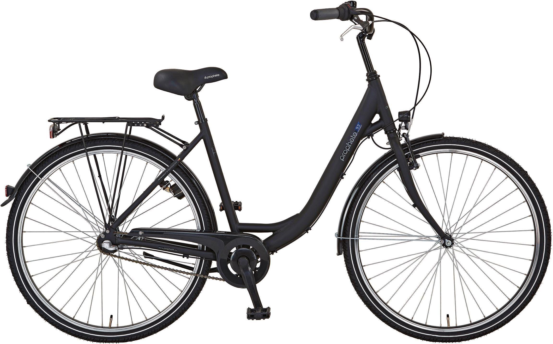 Prophete Cityrad »GENIESSER 9.3 City Bike«, 3 Gang, Nabenschaltung