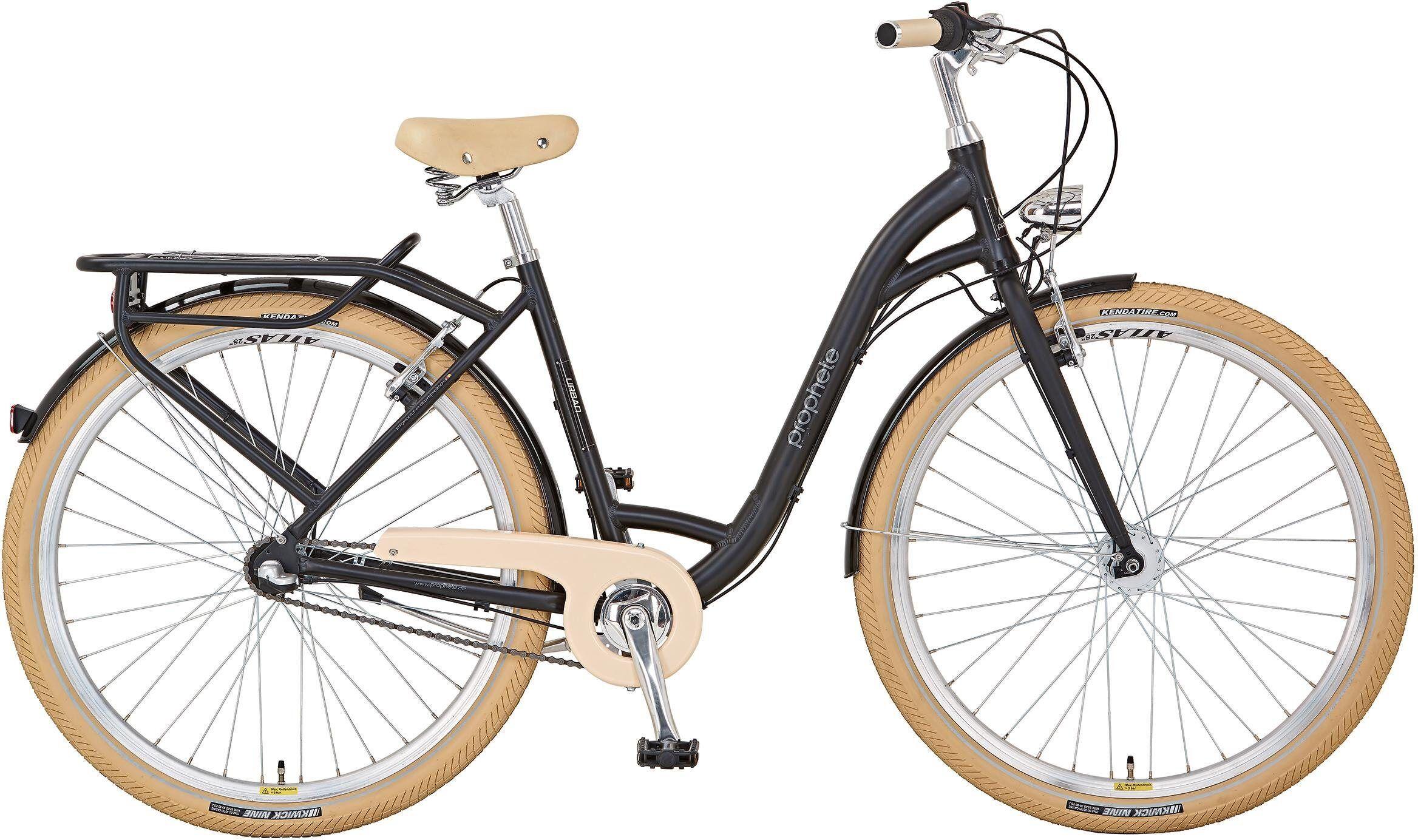"Prophete Cityrad »GENIESSER 9.2 City Bike 28"" Damen«, 3 Gang, Nabenschaltung"