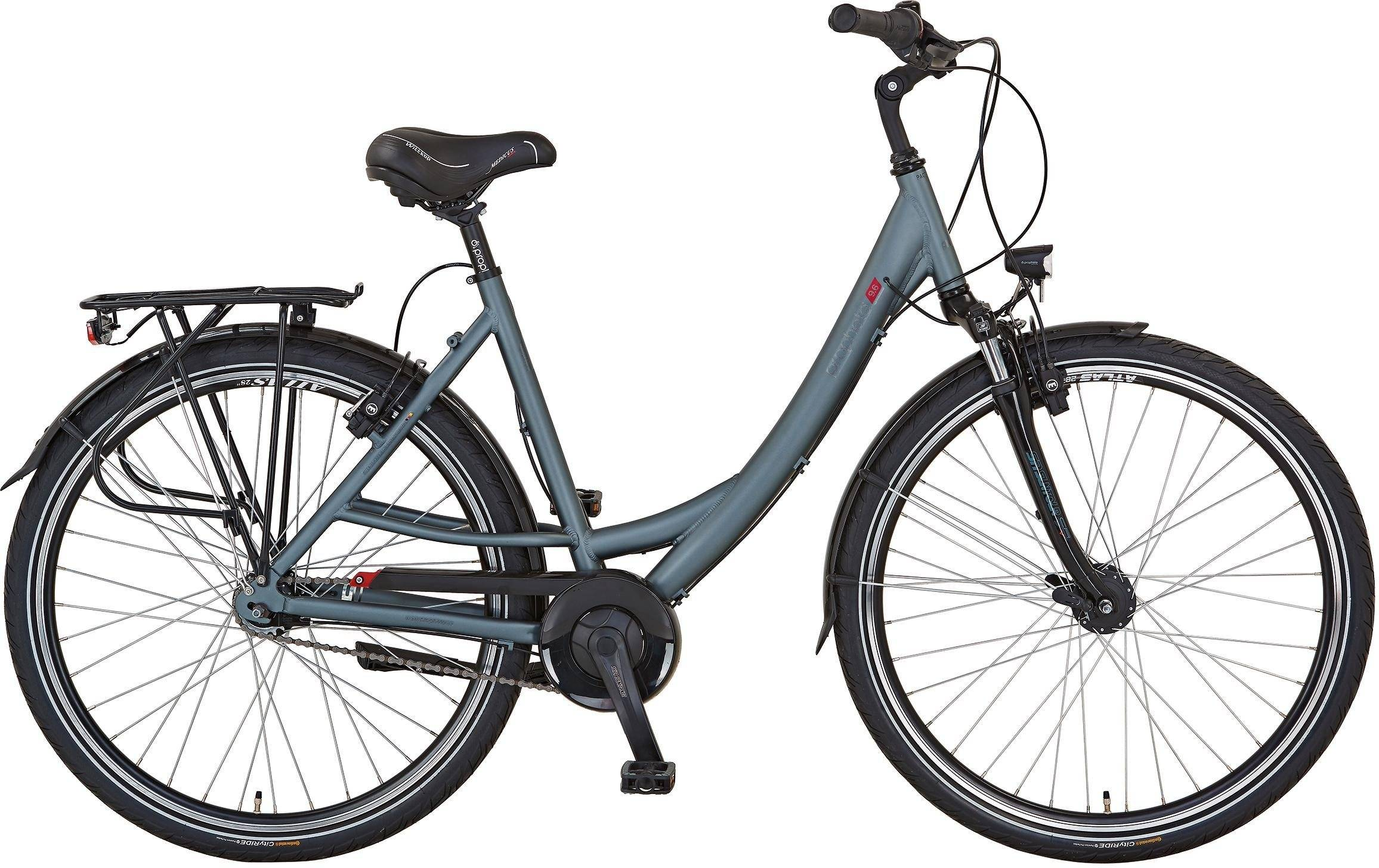 "Prophete Cityrad »GENIESSER 9.6 City Bike 28""«, 7 Gang, Nabenschaltung"