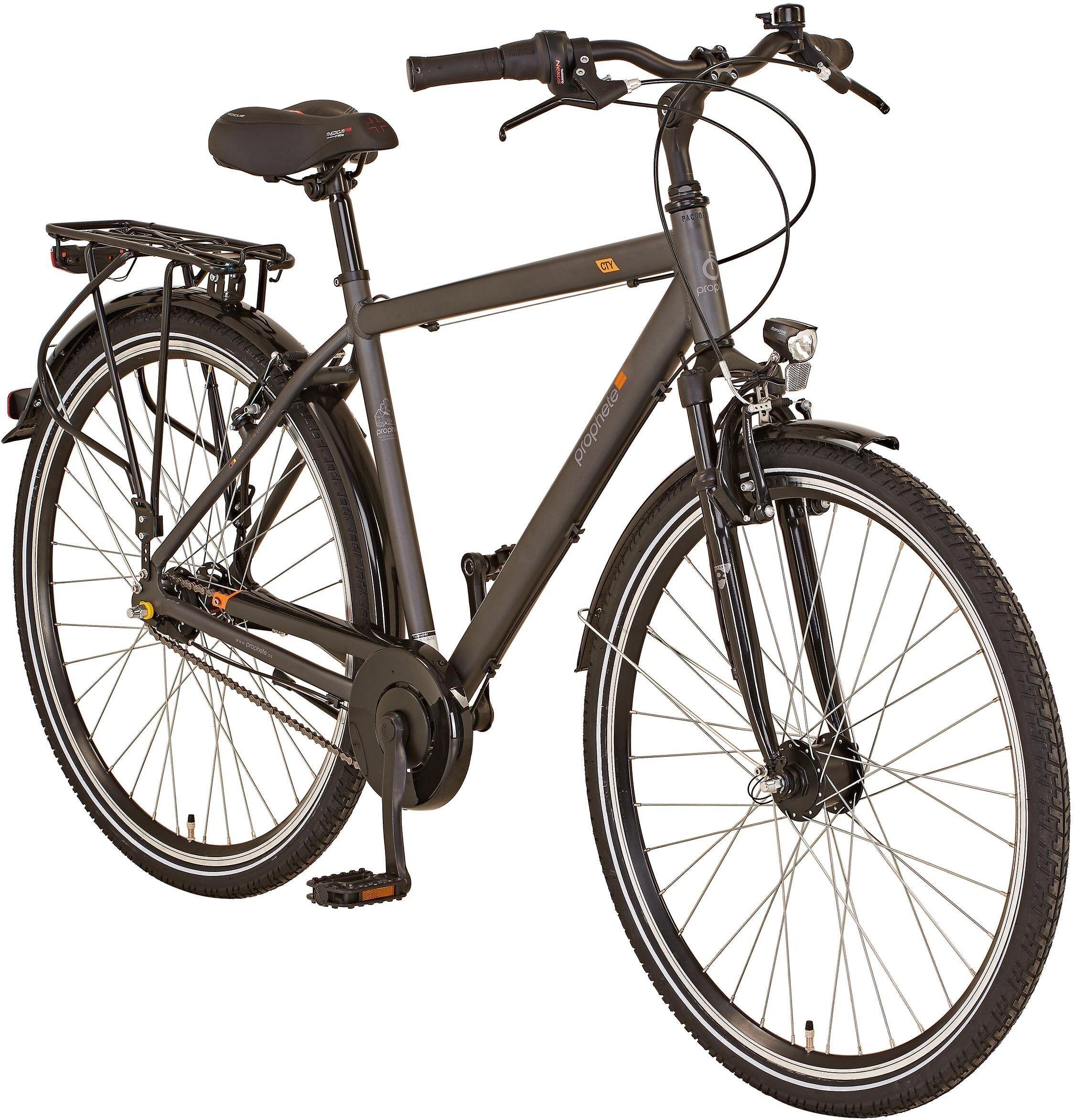 "Prophete Cityrad »GENIESSER 20.BMC.10 City Bike 28""«, 7 Gang Shimano, Nabenschaltung"