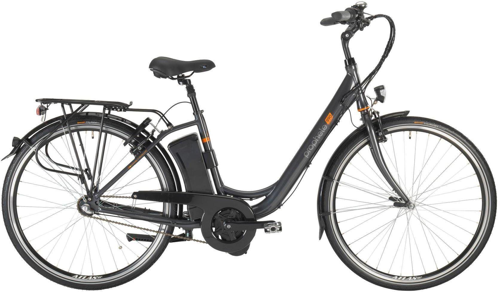 Prophete E-Bike »Geniesser e990«, 3 Gang, Nabenschaltung, Mittelmotor 250 W