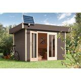 Sunset Set: Solarstrom-Set »PV 45 45 Watt«, silberfarben