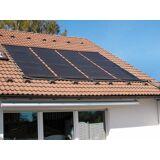SUMMER FUN Solarabsorber , mit 2 Absorbermatten á 400x120 cm, schwarz