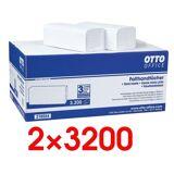 OTTOOFFICE STANDARD 2x Papierhandtücher 1 Set
