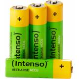 Intenso »Rechargeable Eco AA HR6 2700mAh« Batterie, (4 St), 4 Stück