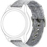 Topp Ersatz-/Wechselarmband »Nylon für Samsung/Garmin Watch«, Grau