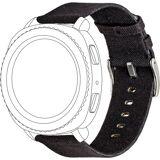 Topp Ersatz-/Wechselarmband »Nylon für Samsung/Garmin Watch«, Schwarz
