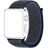 Topp Ersatz-/Wechselarmband »Nylon Loop für Apple Watch (42/44 mm)«, Blau