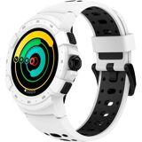MYKRONOZ ZeSport2 Smartwatch (1,3 Zoll), weiß
