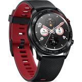 Honor Smartwatch »Watch Magic + Silicone Strap«, Schwarz-Rot