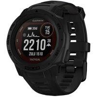 garmin instinct solar tactical edition smartwatch (2,3 cm/0,9 zoll), schwarz   tactical black