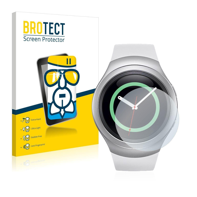 BROTECT Schutzfolie »Panzerglasfolie für Samsung Gear S2«, Schutzglas Glasfolie klar