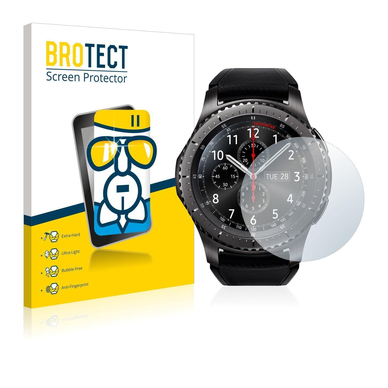 BROTECT Schutzfolie »Panzerglasfolie für Samsung Gear S3 Frontier«, Schutzglas Glasfolie klar