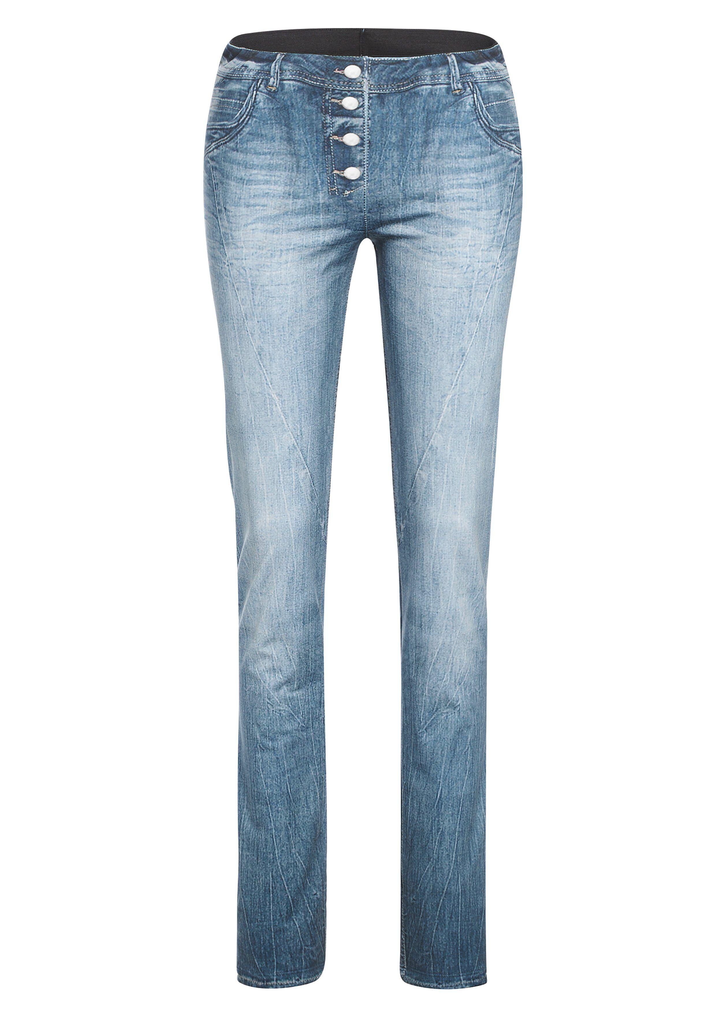 Maier Sports Softshellhose »Sivi« für Ski, Outdoor und Freizeit, jeans