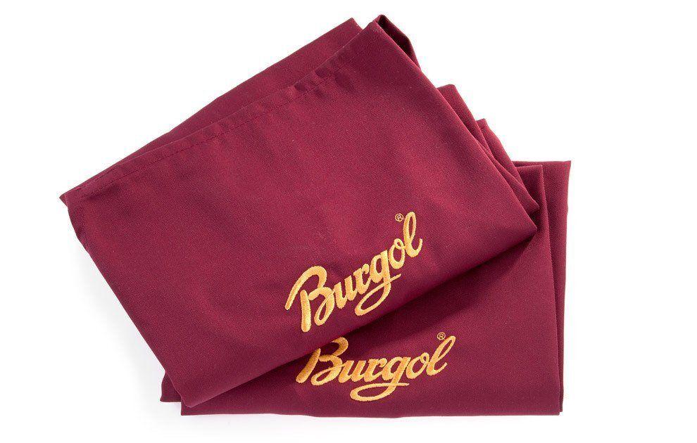 Burgol Schuhlöffel »Schuhputzschürze«, Schützt Kleidung beim Schuheputzen, rot