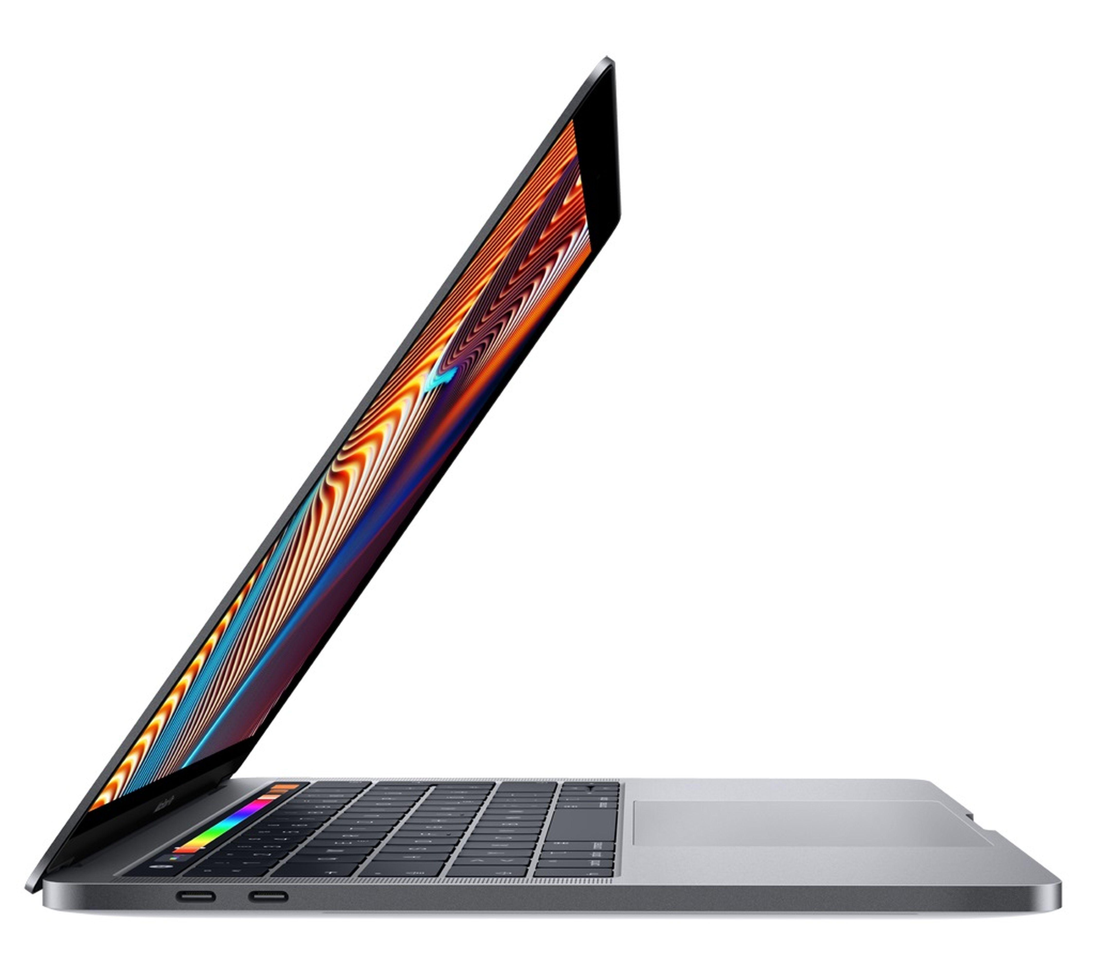 Apple MacBook Pro Touch Bar »Intel Quad-Core, 33,8 cm (13,3)«, grau