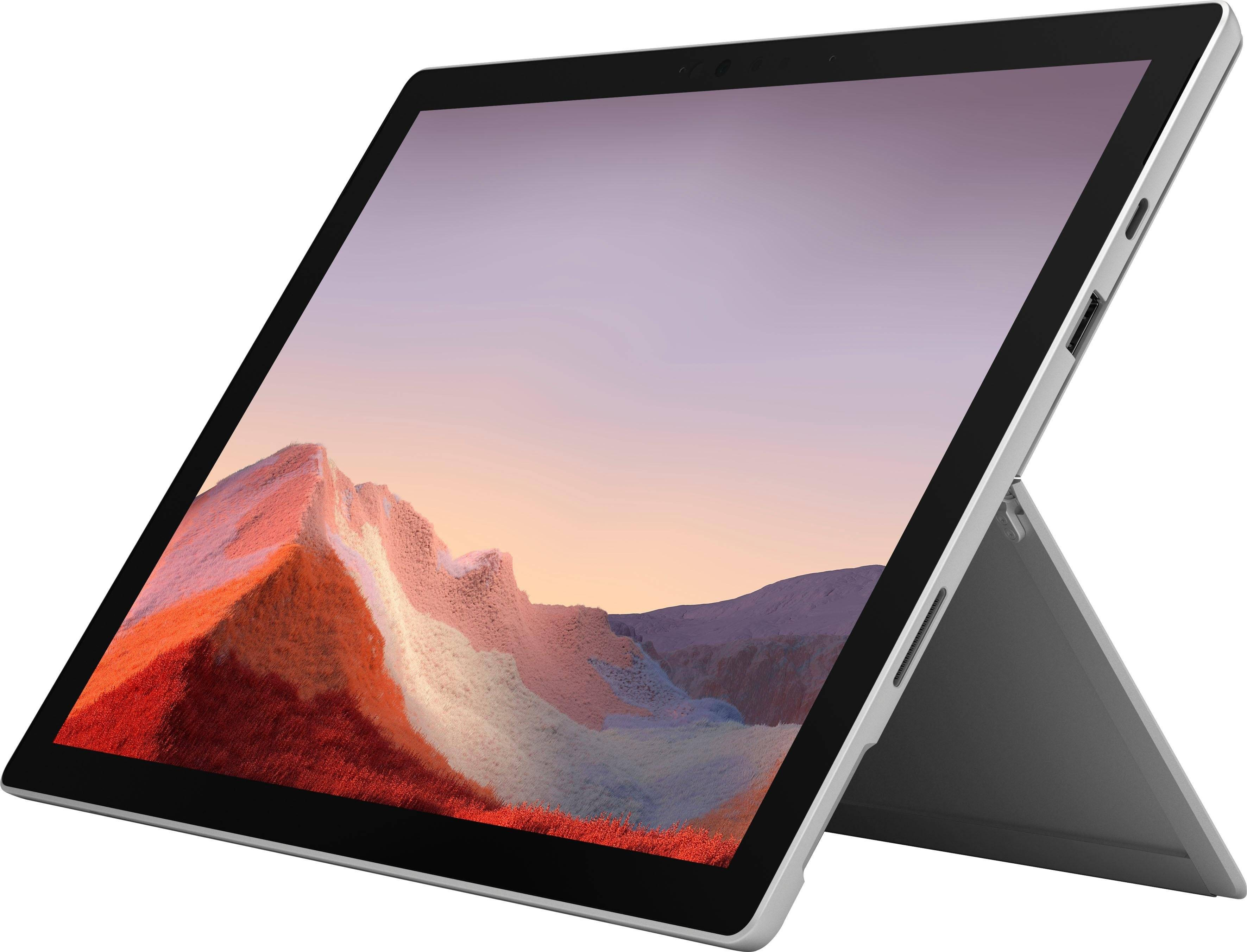 Microsoft Surface Pro 7 - 16GB / 256GB i5 Platin Convertible Notebook (31 cm/12,3 Zoll, Intel Core i5, Iris Plus Graphics, 256 GB SSD, inkl. Office-Anwendersoftware 365 Single im Wert von 69 Euro)