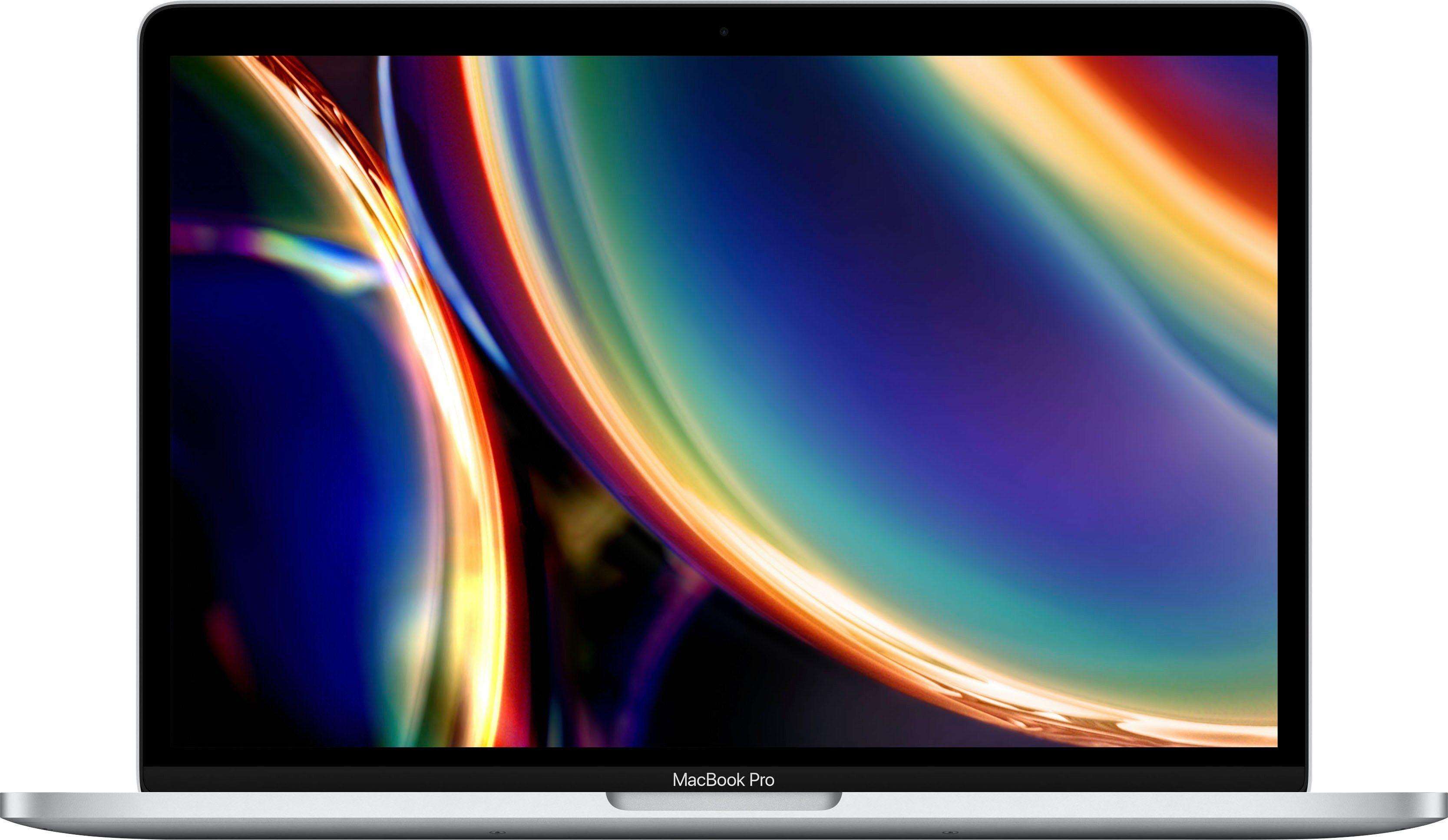 Apple MacBook Pro Notebook (33,78 cm/13,3 Zoll, Intel Core i5, Iris Plus Graphics 645, - GB HDD, 512 GB SSD), Silber