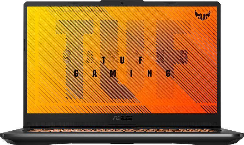 Asus TUF GAMING A17 FA706IH-H7049T Gaming-Notebook (AMD Ryzen 5, GeForce®, 512 GB SSD, Gaming Laptop inkl. Office-Anwendersoftware Microsoft 365 Single im Wert von 69 Euro)