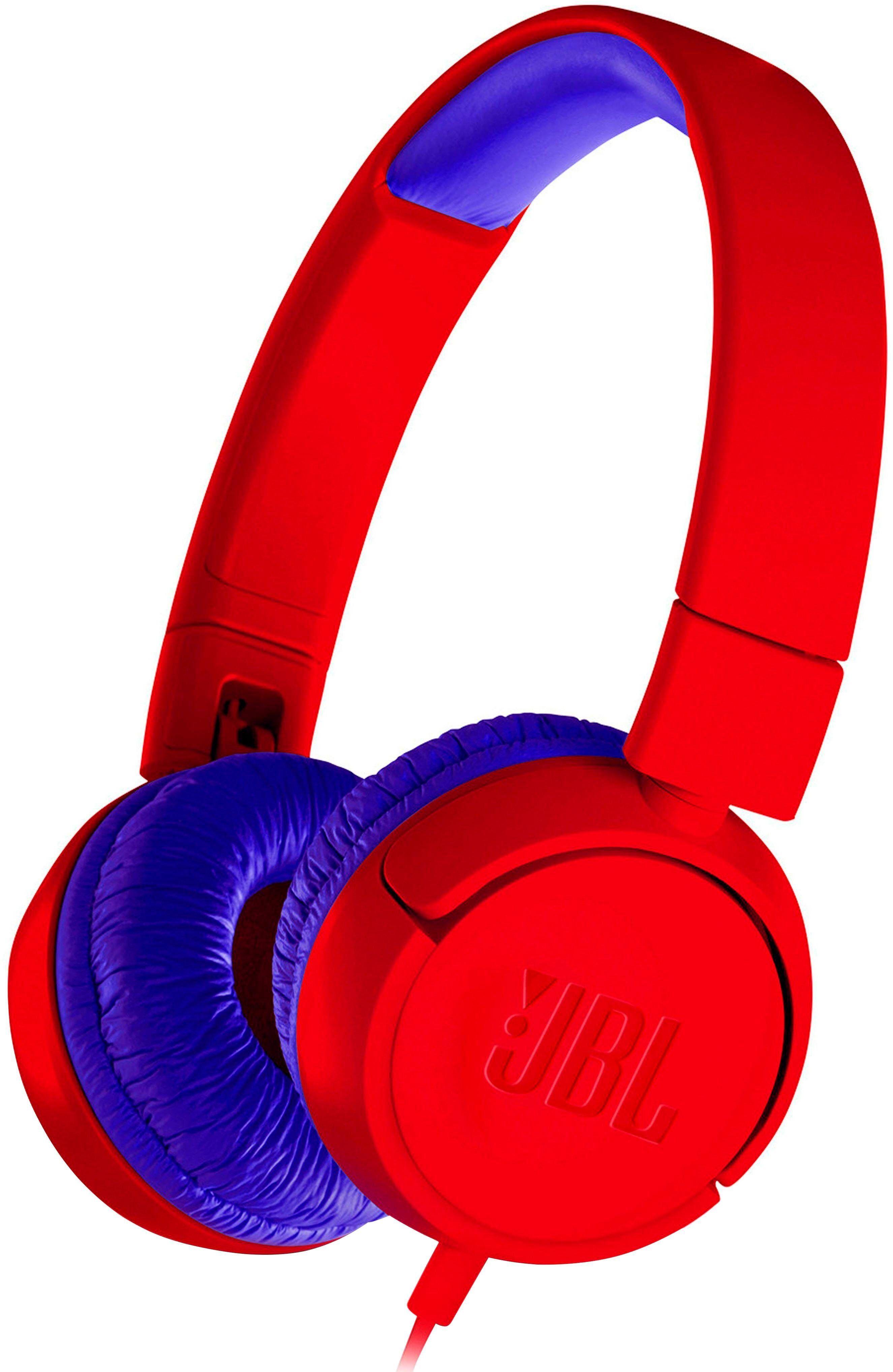 JBL »JR 300« On-Ear-Kopfhörer (für Kinder), rot