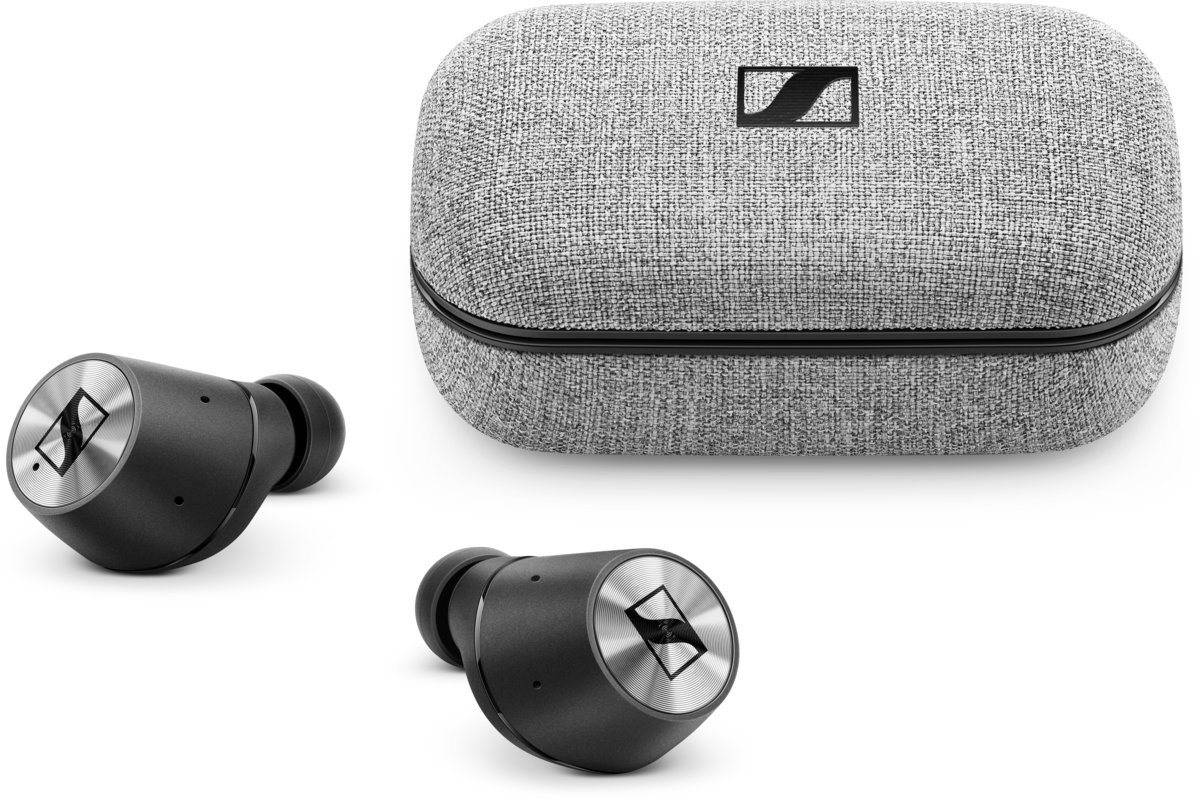 Sennheiser Headset »MOMENTUM True Wireless«, Schwarz-Silber