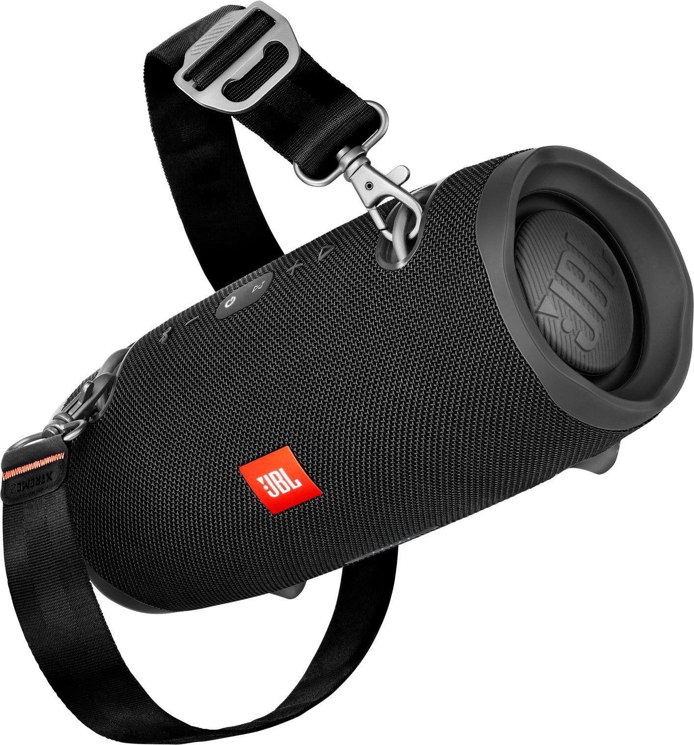 JBL Xtreme 2 ein Portable-Lautsprecher (Bluetooth, 40 W), schwarz