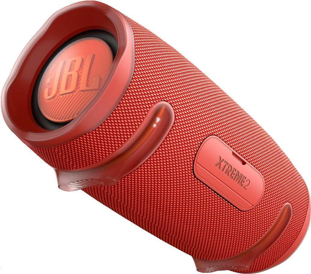 JBL Xtreme 2 ein Portable-Lautsprecher (Bluetooth, 40 W), rot