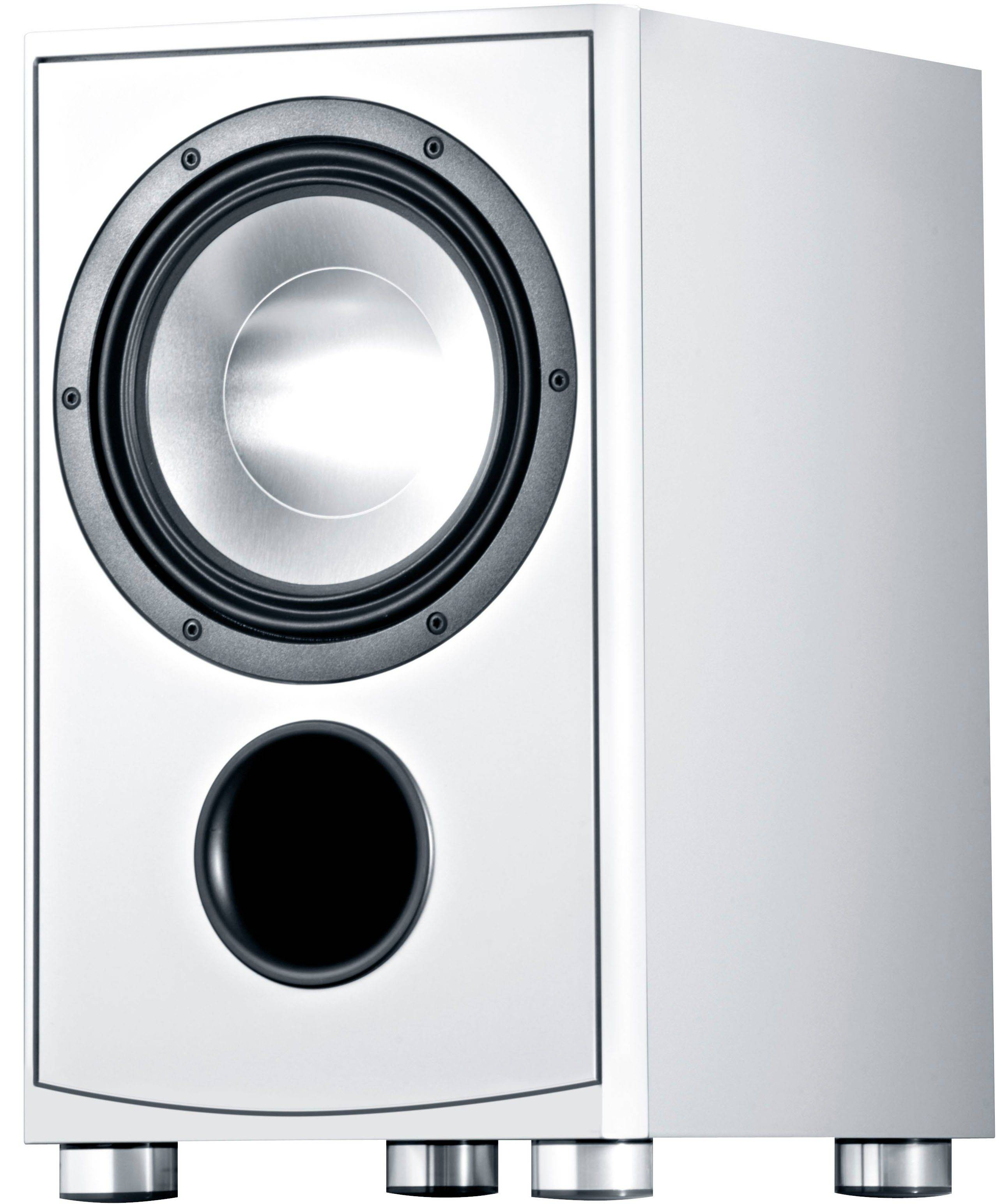 Canton AS 85.3 Subwoofer, weiß